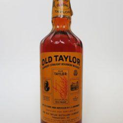 Old Taylor Bottled In Bond Bourbon, 1980