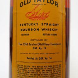 old_taylor_bonded_1980_back_label