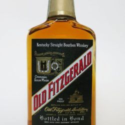 Old Fitzgerald Bottled In Bond Bourbon, 1981
