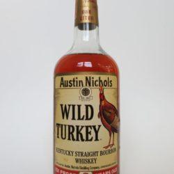 Wild Turkey 8 yr Bourbon, 1980s