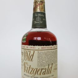 Very Old Fitzgerald 8 yr Bourbon, 1949