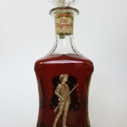 Old Fitzgerald Colonial Bourbon Decanter, 1969