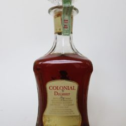 old_fitzgerald_colonial_decanter_back