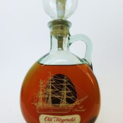 Old Fitzgerald Old Ironsides Decanter, Bottled In Bond, 1971