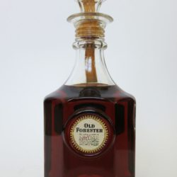 Old Forester Bottled In Bond Bourbon Decanter, 1964