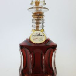Old Forester Bottled In Bond Bourbon Decanter, 1963