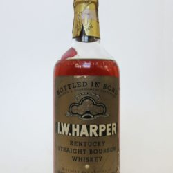 I.W. Harper Bourbon, Bottled In Bond, 1944