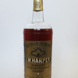 I.W. Harper Bourbon, Bottled In Bond, 1962