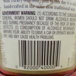Bourbon UPC code