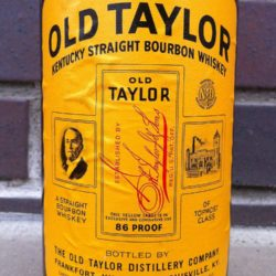 old_taylor_86_1958_front_label