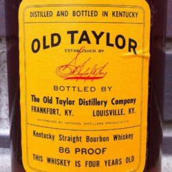 old_taylor_86_1958_back_label