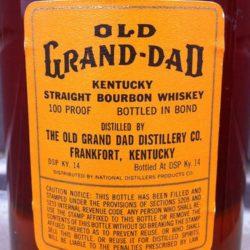 old_grand_dad_bonded_1964_back_label