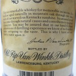 old_rip_van_winkle_10_lawrenceburg_back_label