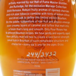 four_roses_mariage_2009_back_label