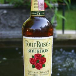 four roses straight bourbon 6 year 1954 - front