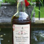 old sunny brook 4 year bourbon - front