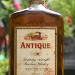 antique bourbon 6 year 1970 - front