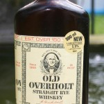 old overholt rye whiskey 1979 - front
