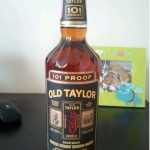 old taylor 101 proof bourbon - front