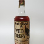 wild turkey 8 year 101 proof bourbon 1965 - front