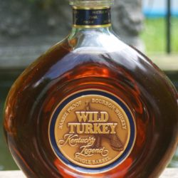 wild turkey legend single barrel bourbon doughnut donut bottle - front