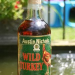 wild turkey rye whiskey christmas bottle 1992 - front