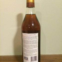 a.h. hirsch 16 year bourbon gold foil - back