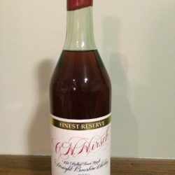 a.h. hirsch 20 year bourbon red wax script - front