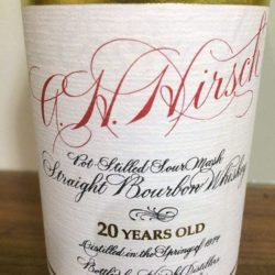 ah_hirsch_20_yr_red_wax_script_front_label