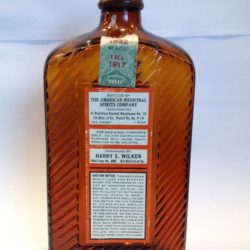 american medicinal spirits special old reserve bourbon 1932 back