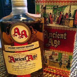ancient age bourbon 86 proof 1961 front