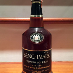 benchmark bourbon 86 proof 1978 front