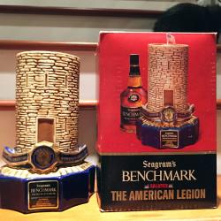 benchmark bourbon american legion decanter 1975 full