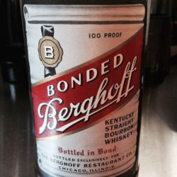 berghoff_bourbon_bonded_8_year_1980_front_label