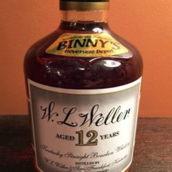 binnys_weller_12_single_barrel_2004_front_label