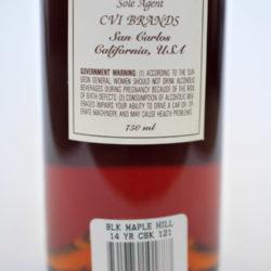 black_maple_hill_14_year_bourbon_cask_137_back_label