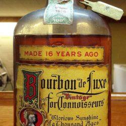 bourbon de luxe bonded prohibition 1932 - front