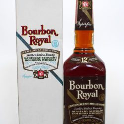 bourbon royal 12 year 1988 front