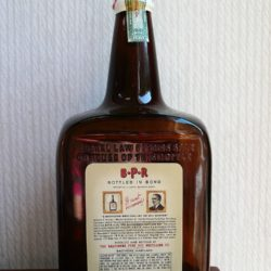 b.p.r. maryland rye whiskey 1941 - back