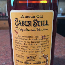 cabin_still_5_year_90_proof_bourbon_1971_back_label