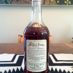 club bourbon stitzel weller 1954 back