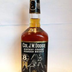 col. j.w. dodge bourbon front