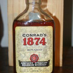 conrad's 1874 bourbon 1959 - front