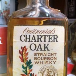 continental's charter oak bourbon 1968 front