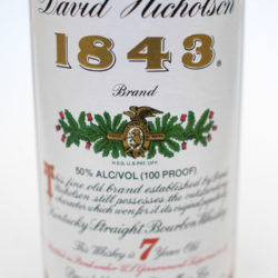 david_nicholson_1843_bourbon_2001_front_label