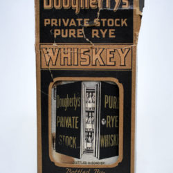doughertys_private_stock_rye_whiskey_medicinal_box_front