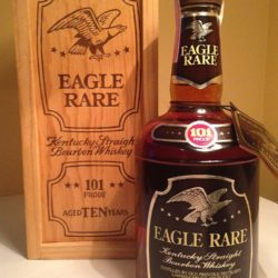 eagle rare 10 year 101 proof lawrenceburg 1980 front