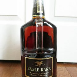 f0bb599ea18 eagle rare 101 new orleans handle back.  eagle rare 101 new orleans handle front label.  eagle rare 101 new orleans handle back label