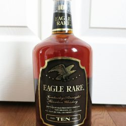 eagle rare 10 year 101 bourbon new orleans handle - front