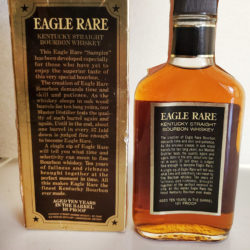 e365cad7f4c eagle rare 10 year lawrenceburg sample bottle 200ml 1982 back.  eagle rare 10 year lawrenceburg sample bottle 200ml 1982 strip